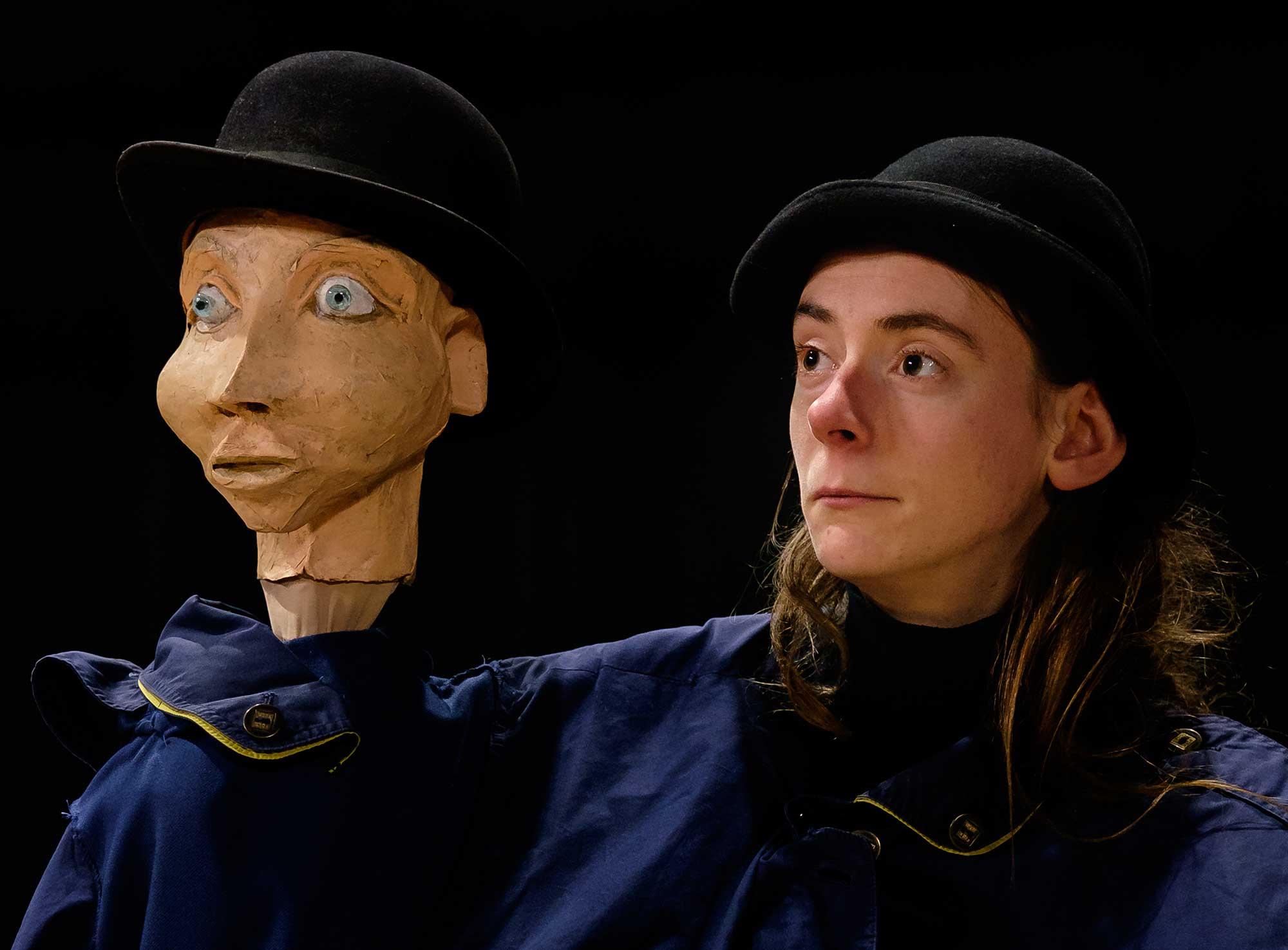 Solo Amandine Testu - option arts de la marionnette 2017 - 2018